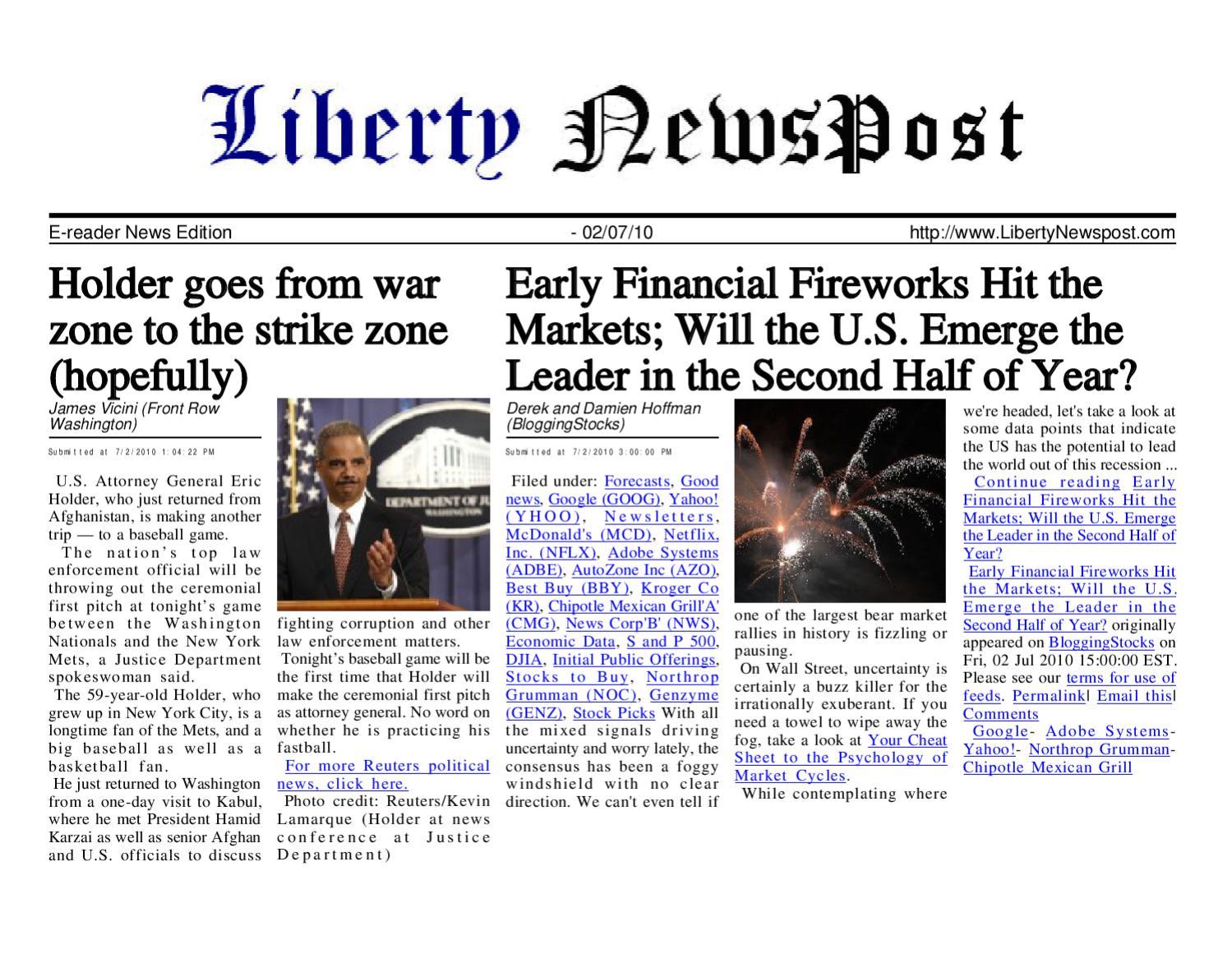 2c1712ec4ad Liberty Newspost July-02-10 by Liberty Newspost - issuu