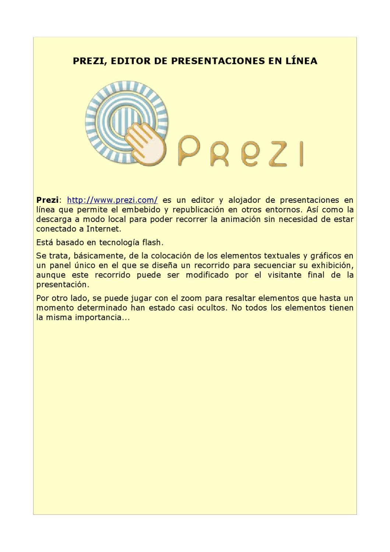 Tutorial sobre Prezi by Ángel Ricardo Puente Pérez - issuu