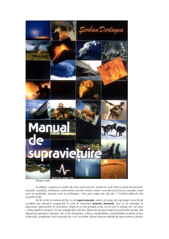 vânzare ieftină din Marea Britanie textură bună cel mai ieftin pret Manual de suprevetuire by Isidor WS - issuu