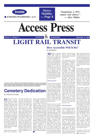 November 1999 Issue by Access Press - issuu