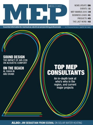 MEP Middle East - July 2010 by ITP Business Publishing - issuu