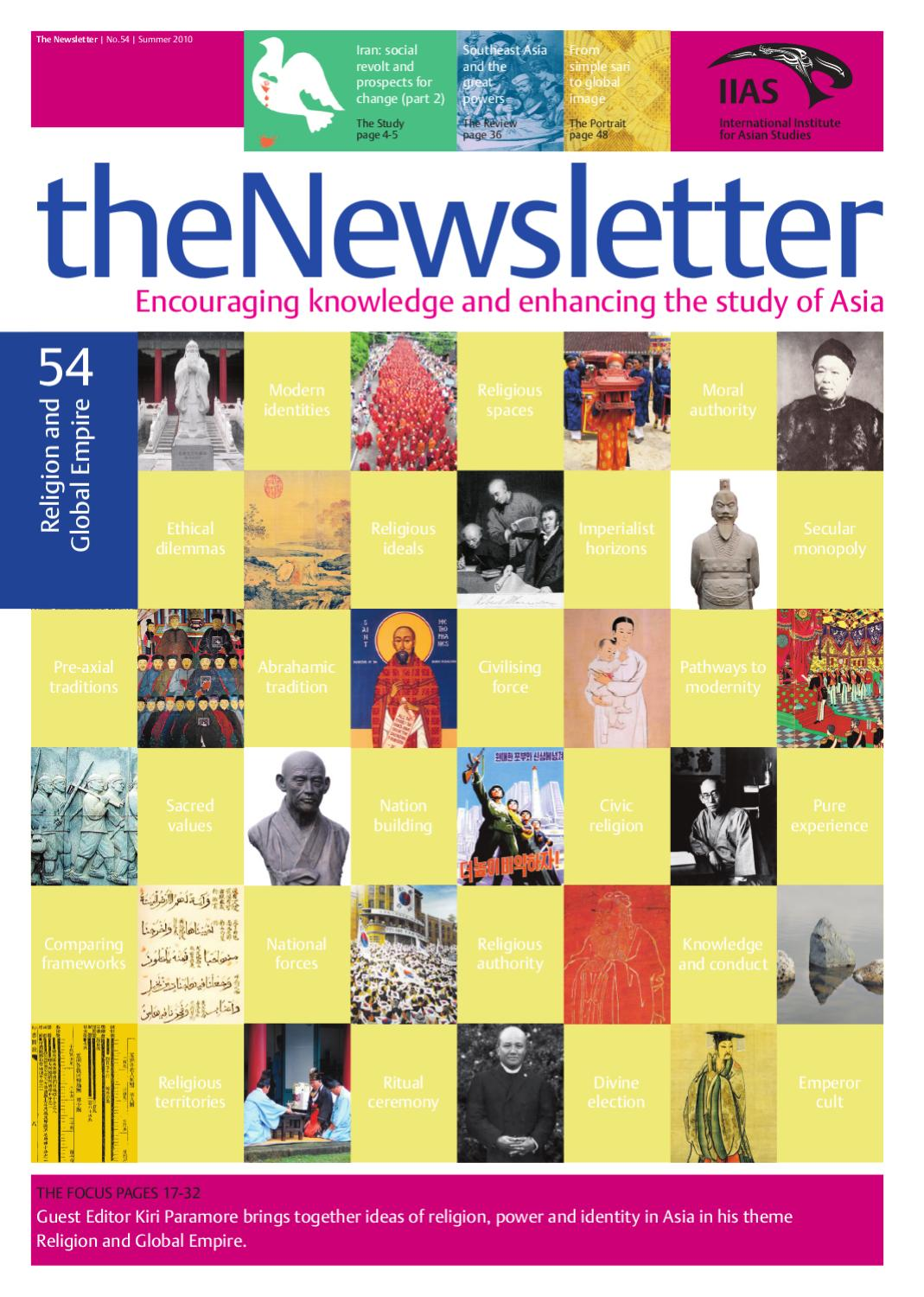 The Newletter 54 by International Institute for Asian