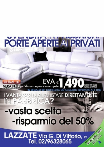 Pg Divani Lazzate.Svendita In Fabbrica By Pg Store Issuu