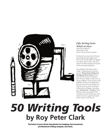 Help for writers roy peter clark