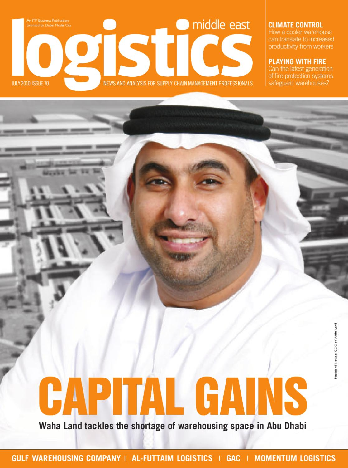 Logistics Middle East - July 2010 by ITP Business Publishing