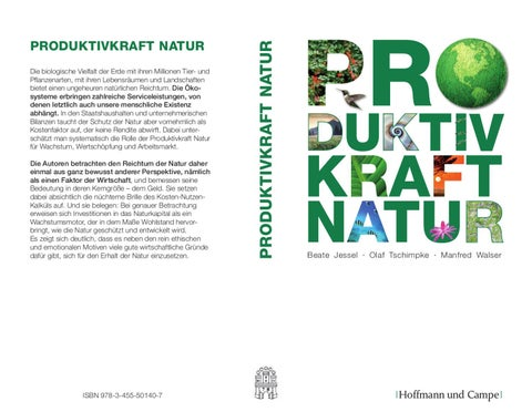 Produktivkraft Natur by Backhaus Marketingberatung issuu