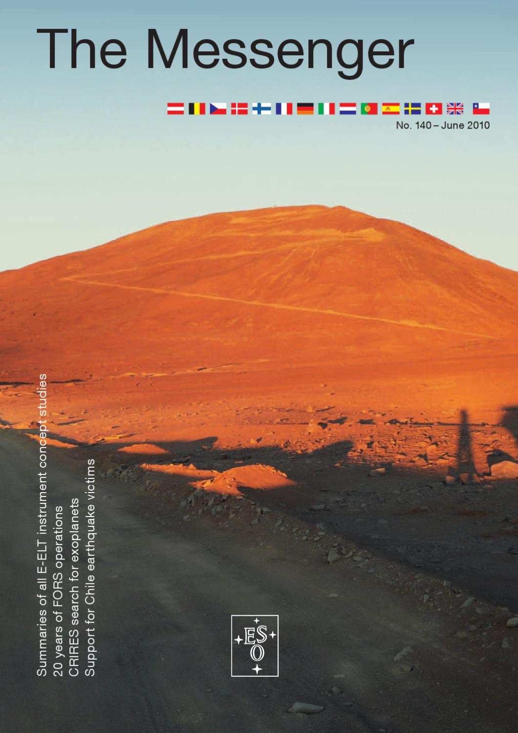 The Messenger No  140 by European Southern Observatory - issuu