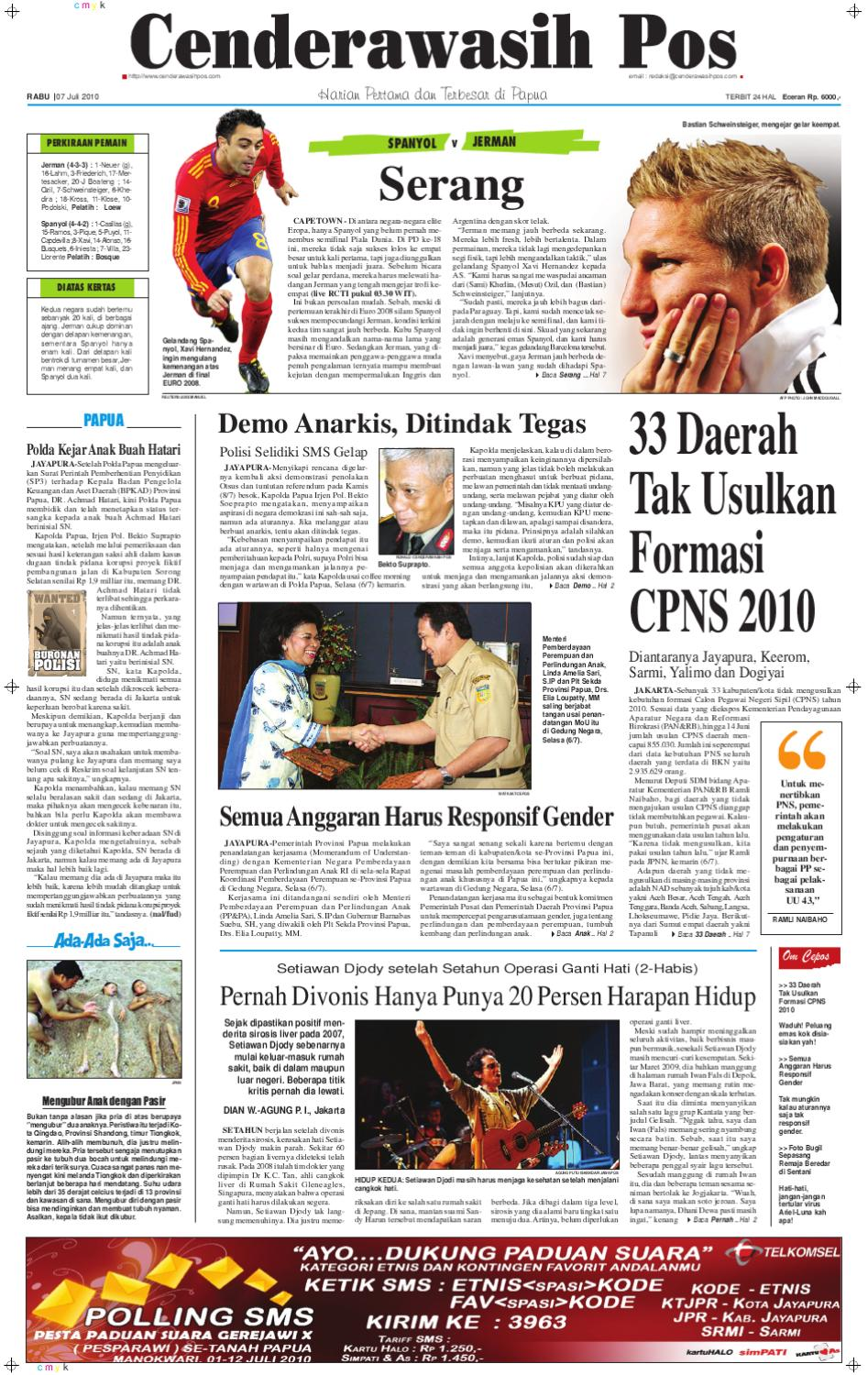 epaper-cenderawasihpos by xpresi cepos - issuu 89a0553713