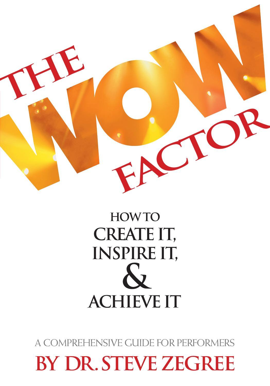 The Wow Factor by Nicole Julius - issuu bdde868f2