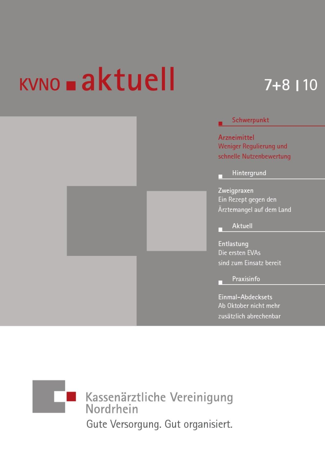 kvno aktuell 7 8 2010 by kv nordrhein issuu. Black Bedroom Furniture Sets. Home Design Ideas