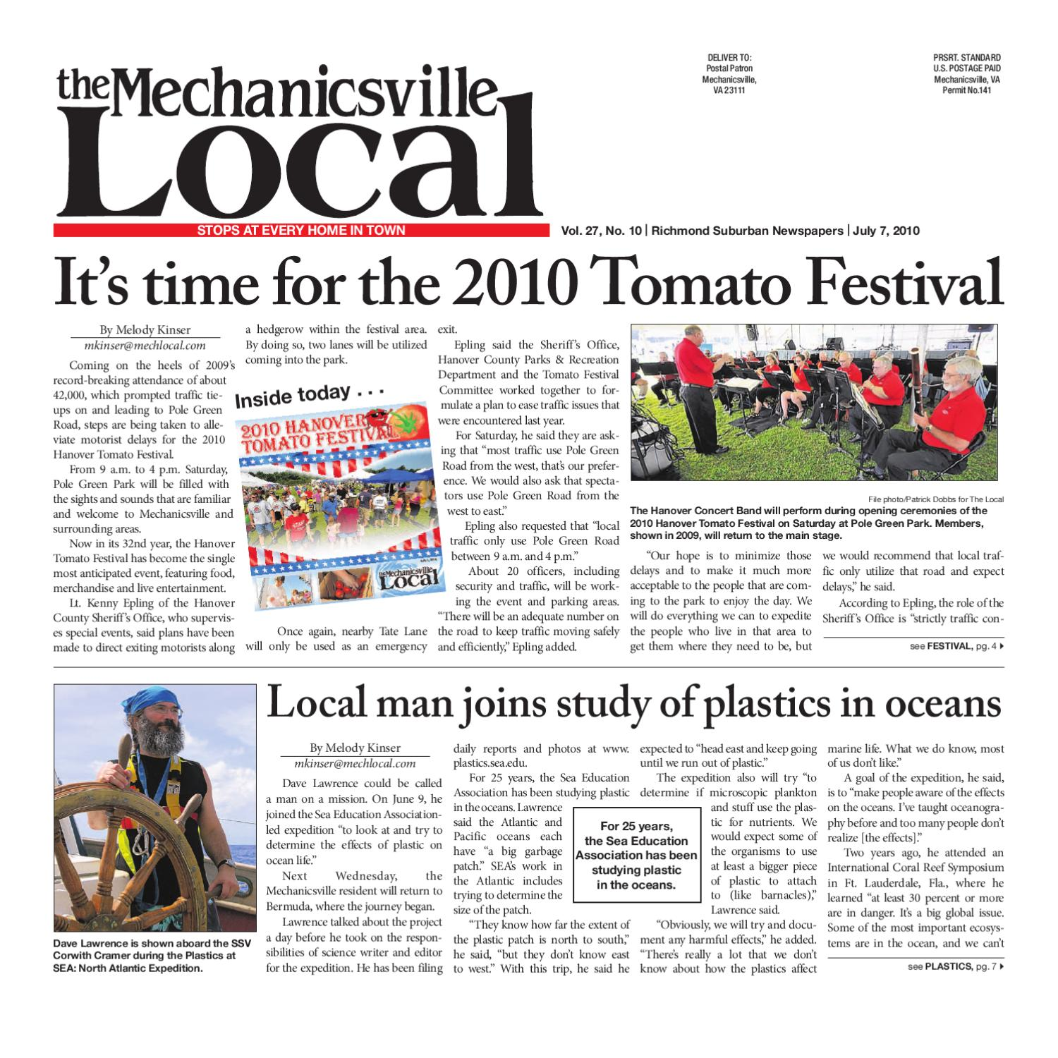 07 07 2010 by The Mechanicsville Local - issuu 5ec68a2bd2