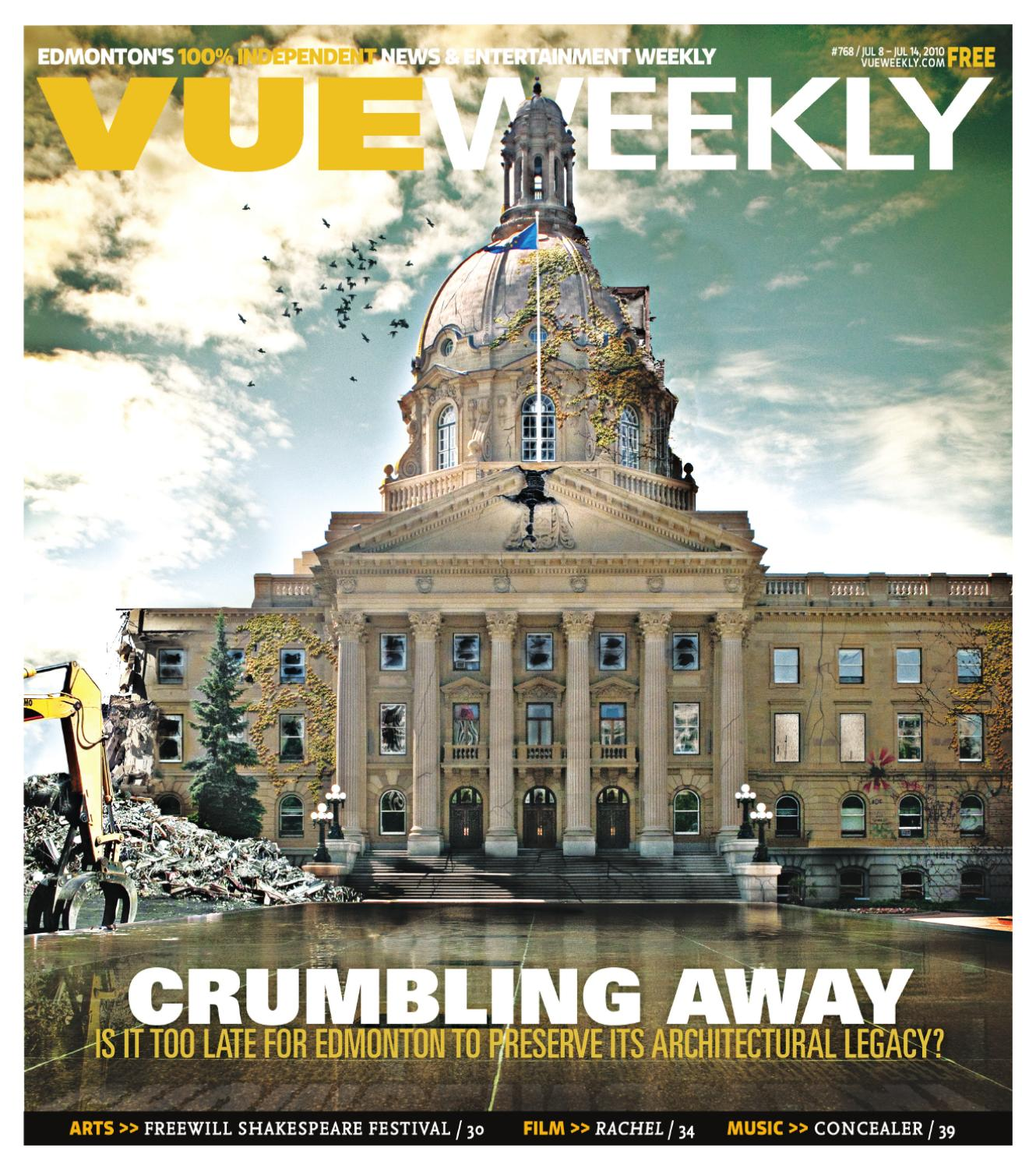 98e60f225e30 Vue Weekly Issue 768 July 8 - 14 2010 by Vue Weekly - issuu
