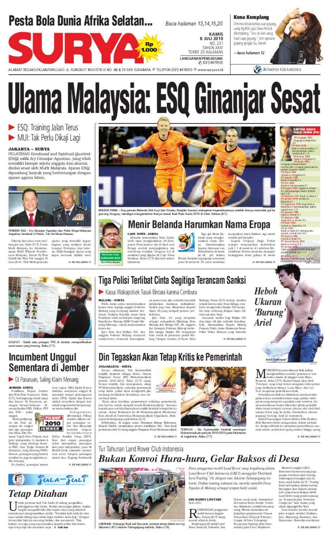 Surya Edisi Cetak 08 Juli 2010 By Harian Issuu Produk Ukm Bumn Tas Phiton Kembang Orchid