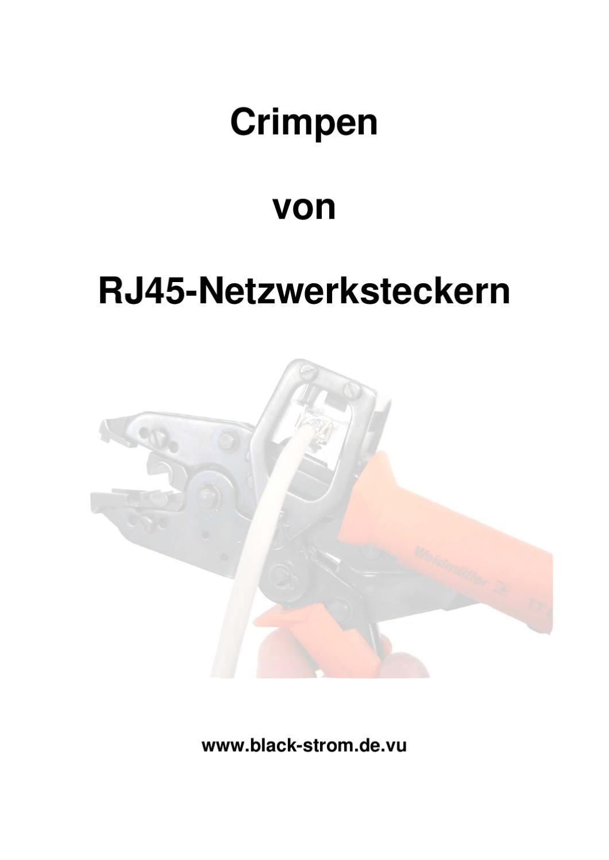 crimpen von rj45 by bernd s - issuu