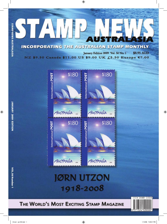 Stamp News Australasia January 2009 by Steve Fletcher - issuu