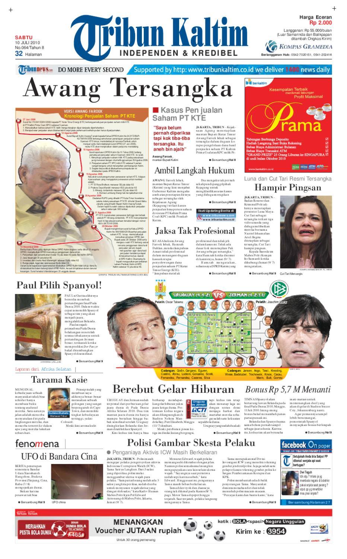 tribunkaltim 10 juli 2010 by tohir tribun issuu240 Barisan Kasir Minimarket Ini Bisa Bikin Kamu Betah Belanja Di Minimarket Guys #3
