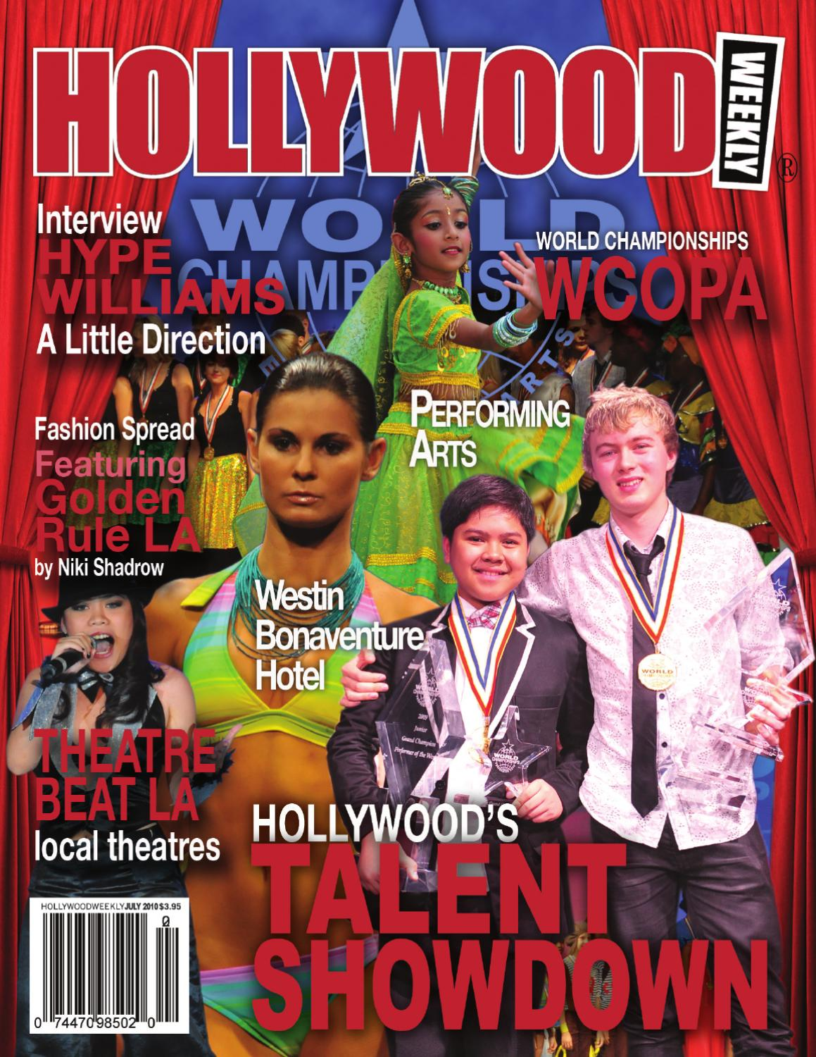 Hollywood Weekly July 2010 WCOPA by Hollywood Weekly