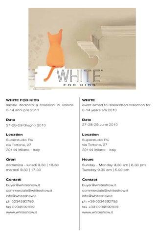 White For Kids 06 10 by MSeventy srl - issuu 7073e8d98d0