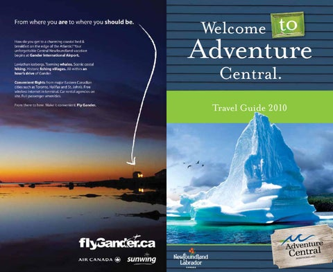 Newfoundland labrador travellers guide 2017 by newfoundland and newfoundland labrador travellers guide 2017 by newfoundland and labrador tourism issuu fandeluxe Gallery