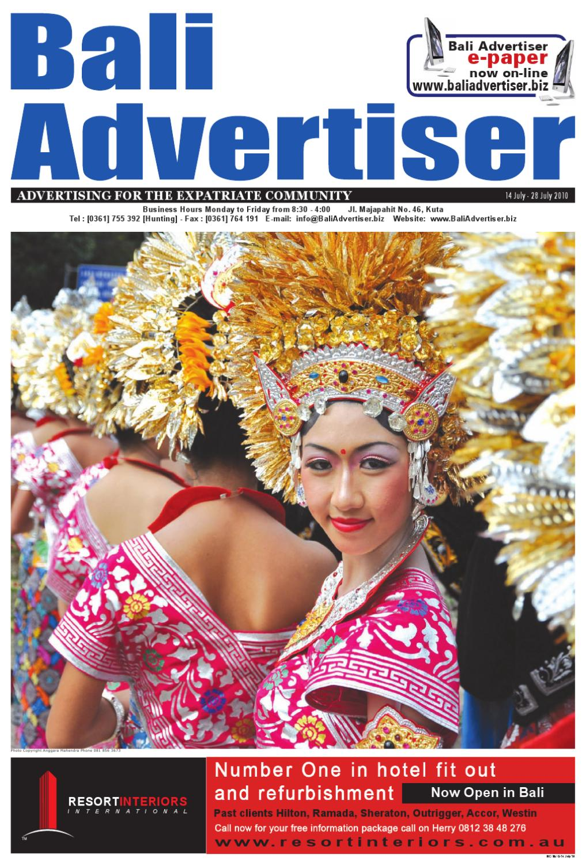 Ba 14 July 2010 By Bali Advertiser Issuu Kopi Arabika Solong Aceh Viziq Nad
