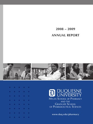Annual Report 08 09 By Duquesne University Issuu