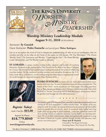 Worship Module by Denise Looney - issuu