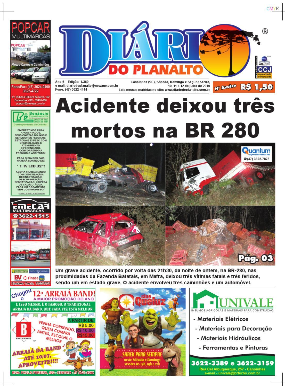 e20823c965f Jornal Diário do Planalto by Jornal Diário do Planalto Canoinhas - issuu