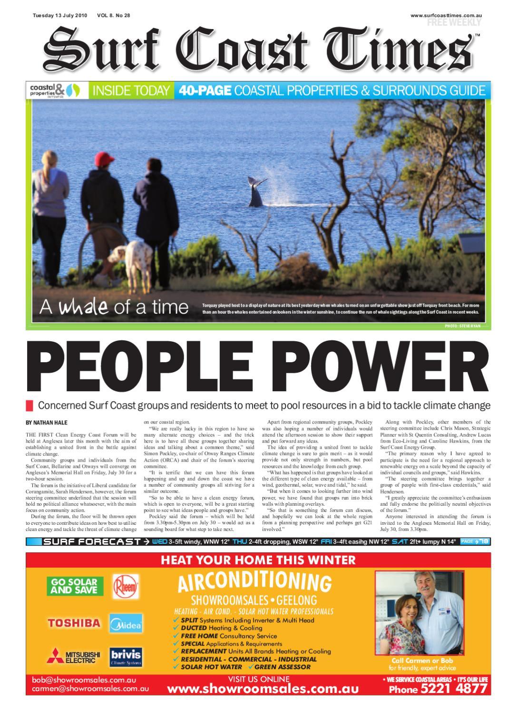 Surf Coast Times July 10 by Surf Coast News Australia Pty Ltd   issuu