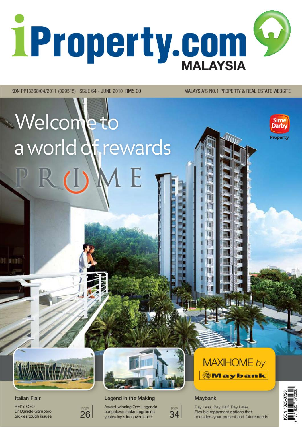 iProperty.com Issue 64 (June 2010) by iproperty.com - issuu