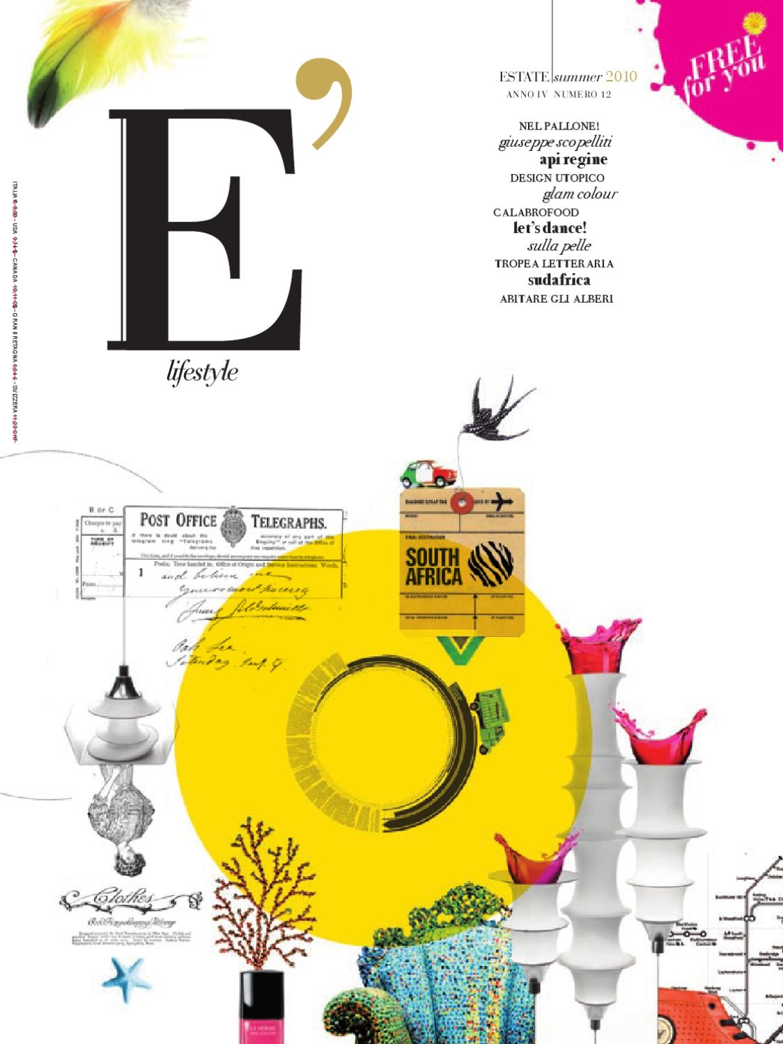 E  lifestyle n° 12 by Sergio De Luca - issuu 9c6cfd2c0a9