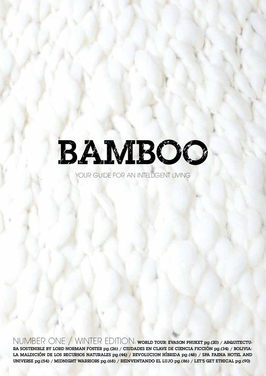 5397c6bd9dd1 Bamboo by Cristian KRISS - issuu