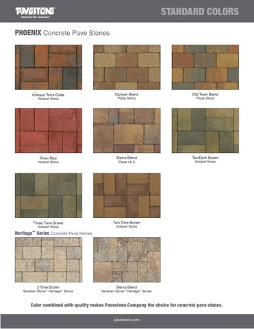Http Www Pavestone Com Images Stories Products Colors