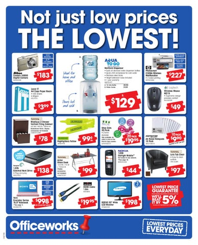 Officeworks July 2010 Catalogue by Atomic Media - issuu
