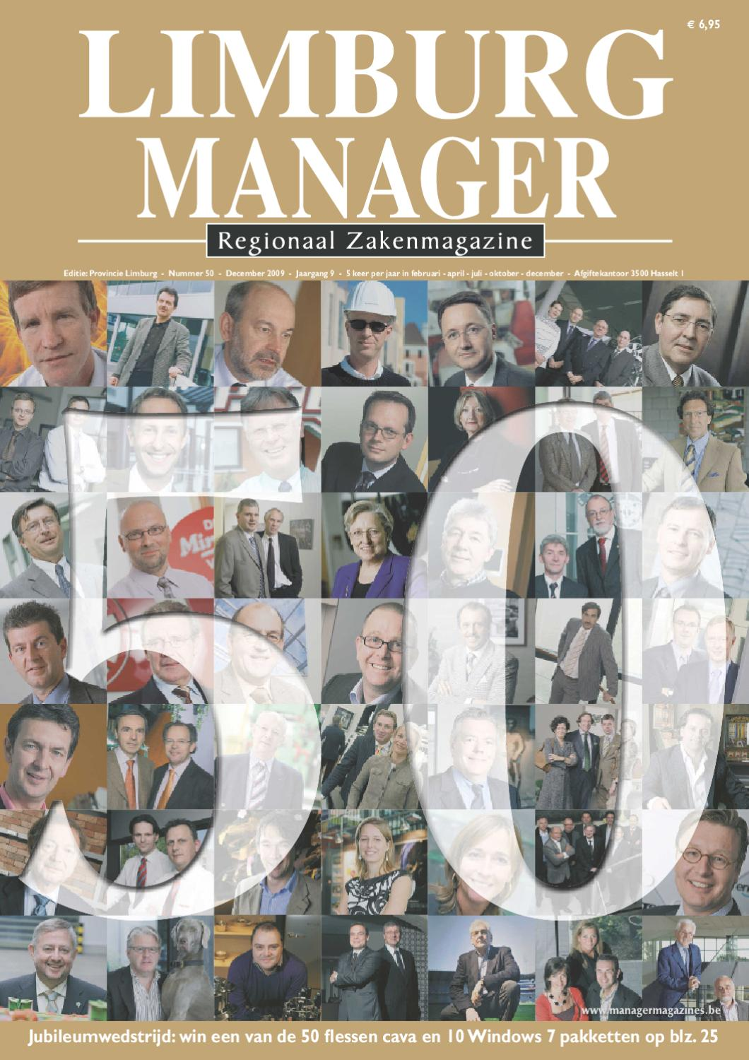 04f4cafebd69df Limburg Manager 50 by Manager Magazines - issuu