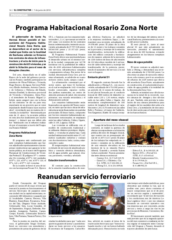 EL CONSTRUCTOR - 01/06/2010 - Año 109 - Nº 4865 by ELCO Editores - issuu
