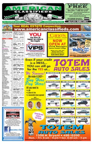 4aeec4b2575e93 San Angelo American Classifieds by San Angelo American Classifieds ...