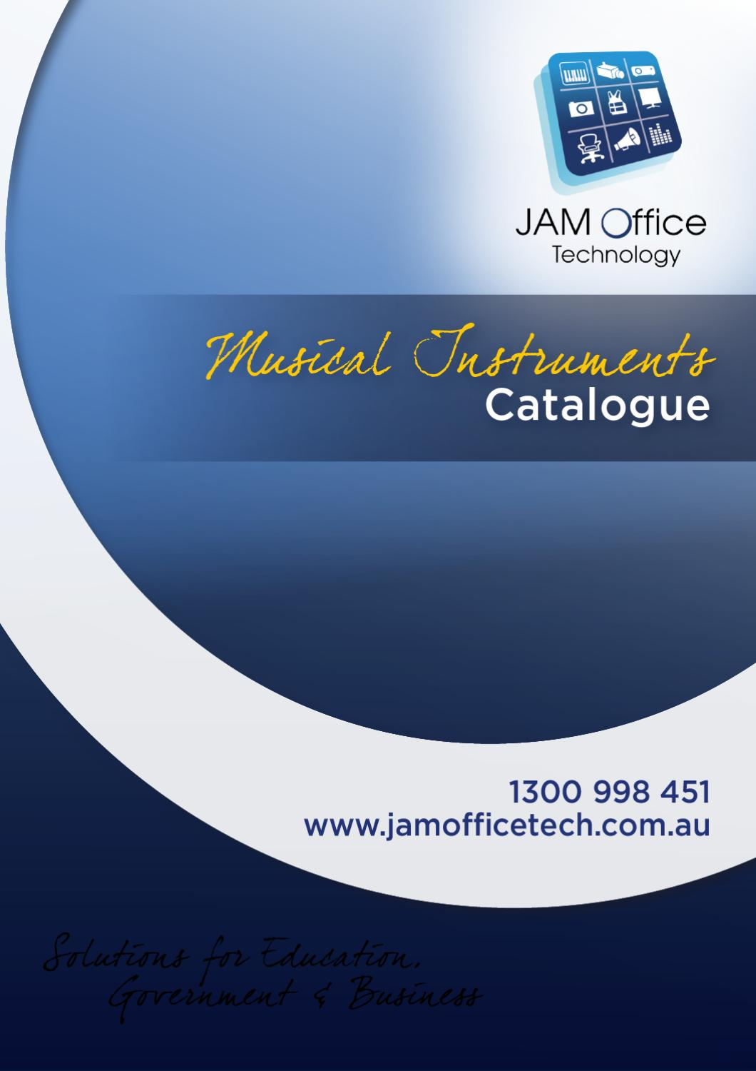 JAM Musical Instrument Catalogue by Samuel Naya - issuu