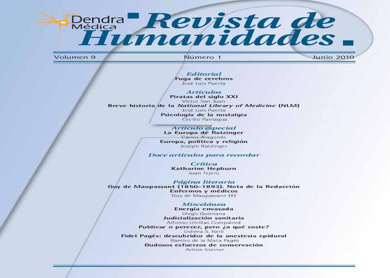 9-1 Dendra Medica / Ars Medica Vol. 9 Num. 1 by Jose Manuel Perez ...