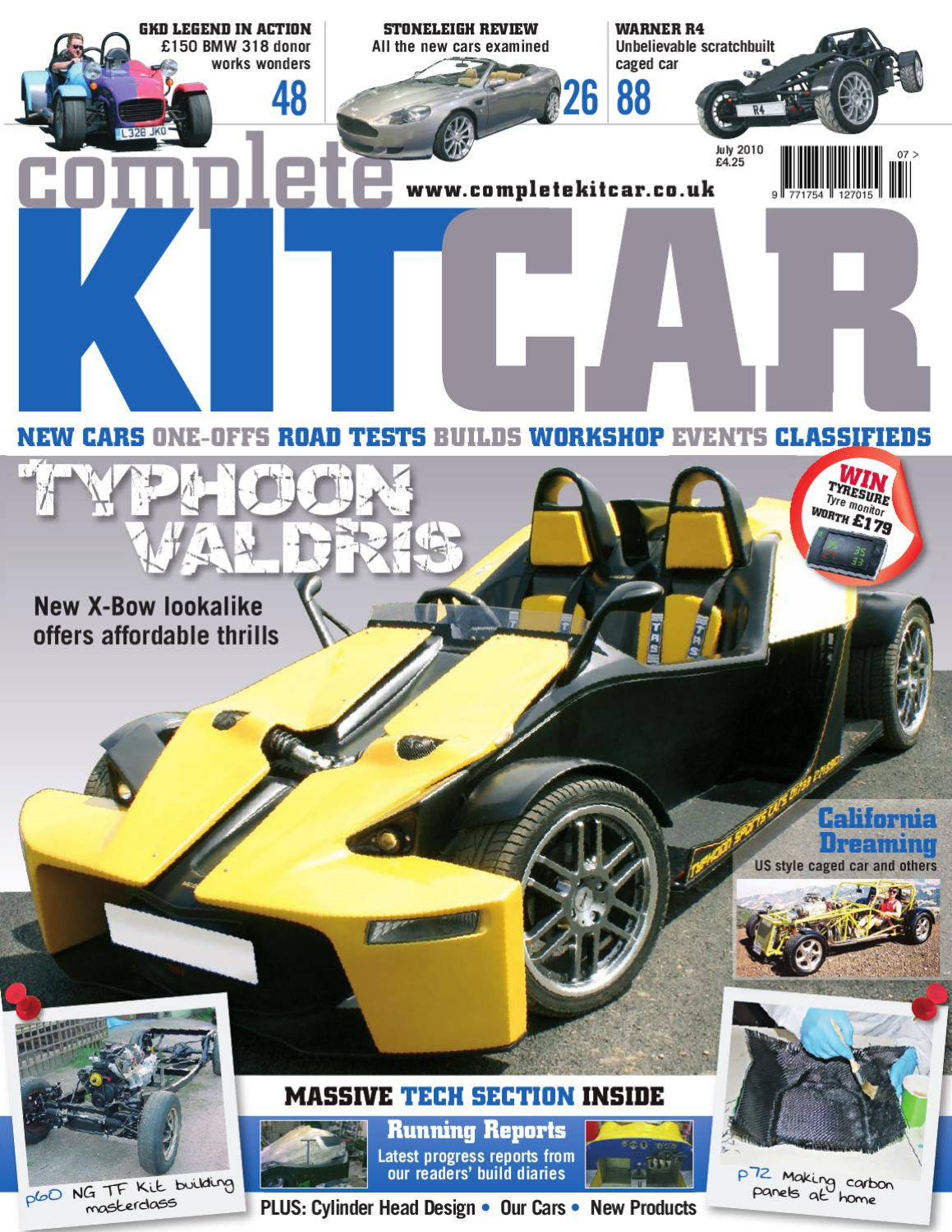Complete Kit Car magazine July 2010 Preview by Performance ...