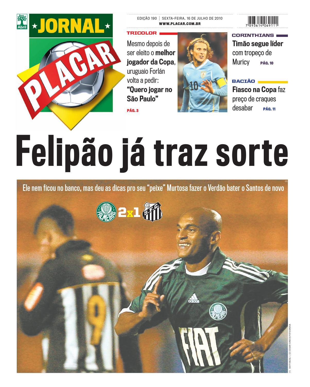 jornal placar edicao 190 by Revista Placar - issuu 9837294227419