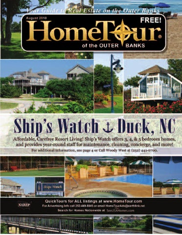 Home Tour of the Outer Banks: August Issue 2010 by Home Tour of the