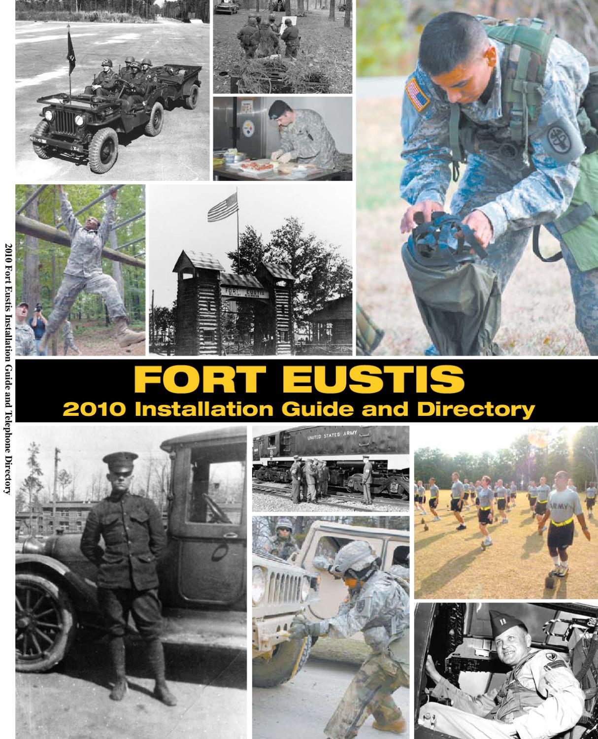 Fort Eustis 2010 Installation Guide and Directory