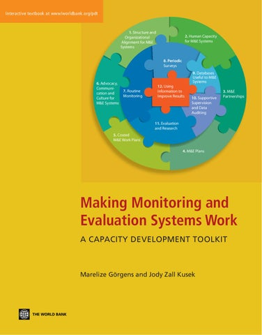 Making Monitoring and Evaluation Systems Work - Part 1 by ... on