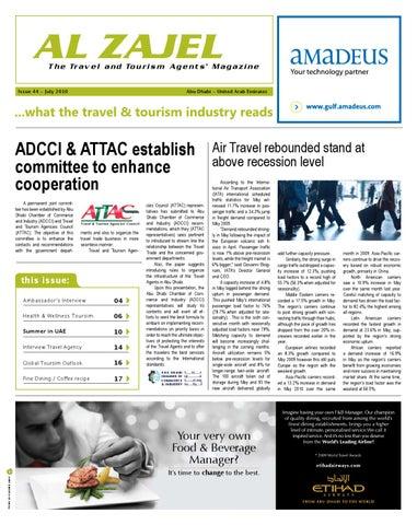 Al Zajel Magazine_45th issue_july_ 2010 by JIHAD Azeez - issuu