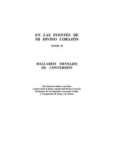 2. En las Fuentes de Mi Divino Corazon - TOMO II by Ferchinando ...