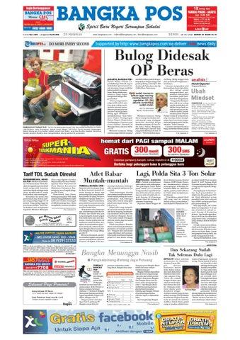 Harian Pagi Bangka Pos Edisi 19 Juli 2010 by bangka pos - issuu 08aade37be