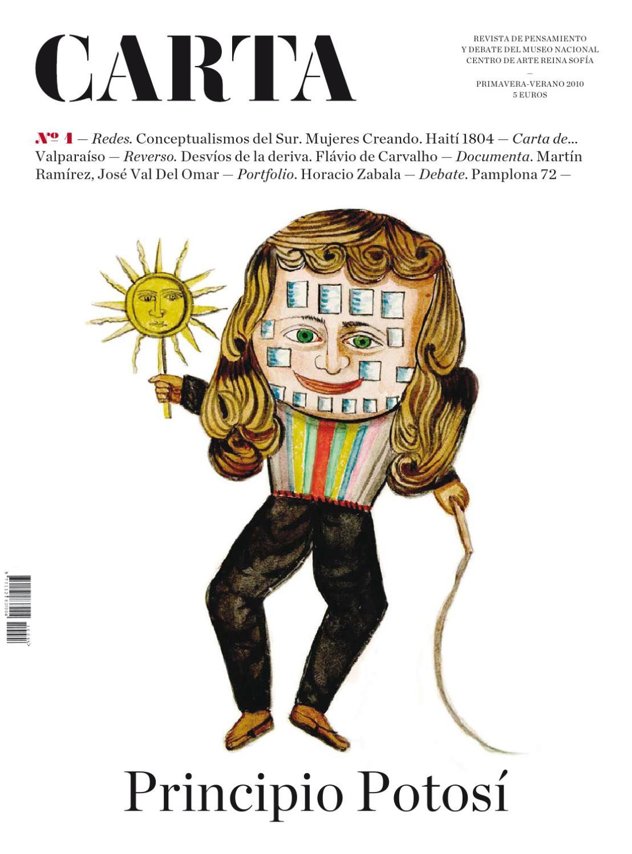 Carta nº1. Primavera-verano 2010 by Museo Reina Sofía - issuu bca84b1fa10