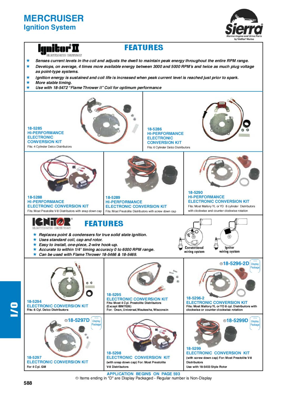Delco 4 Cyl Electronic Conversion Kit 18-5297