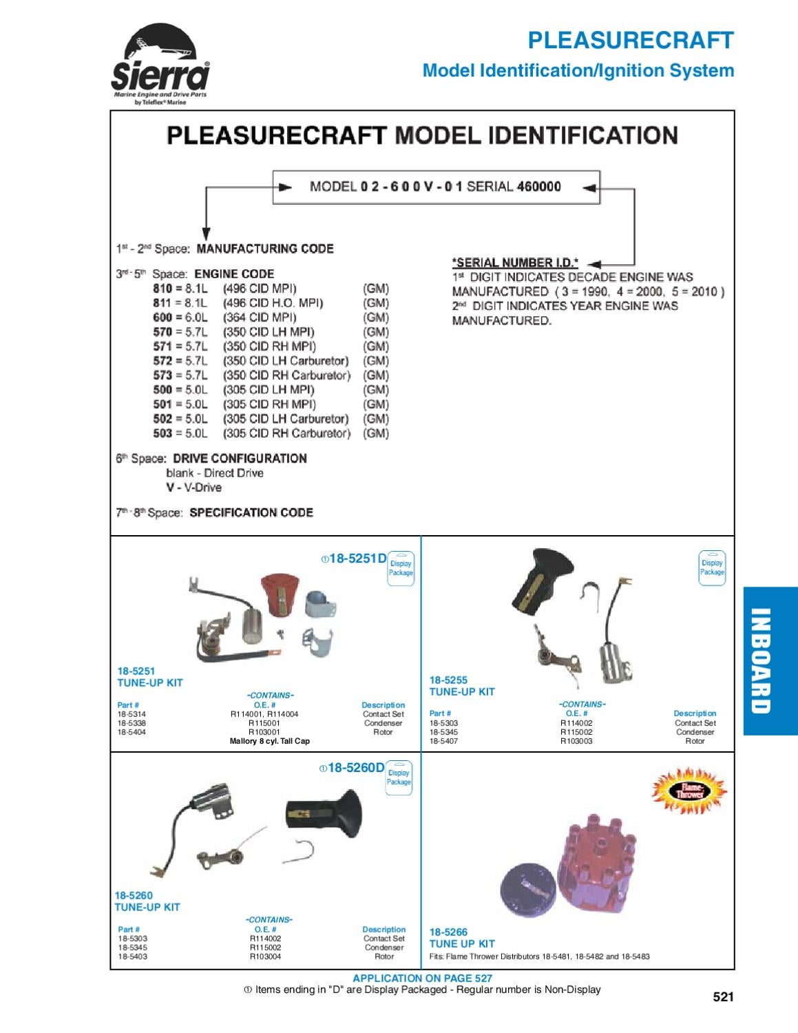 Sierra Marine Engine And Drive Parts For Pleasurecraft By Anthea Omc Alternator Wiring Diagram Webb Issuu