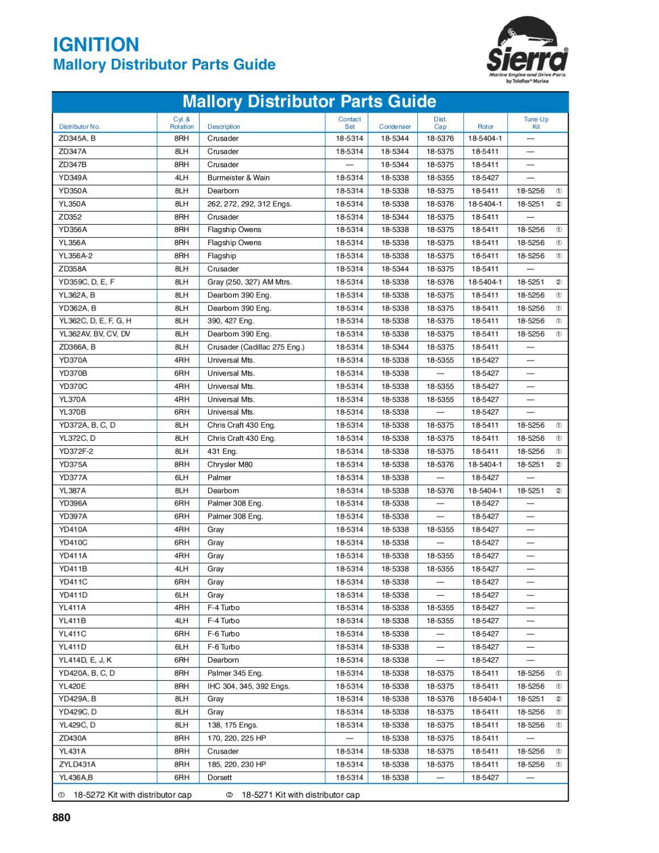 Sierra 18-7801 Fuel Pump Kit Omc 379777 5316